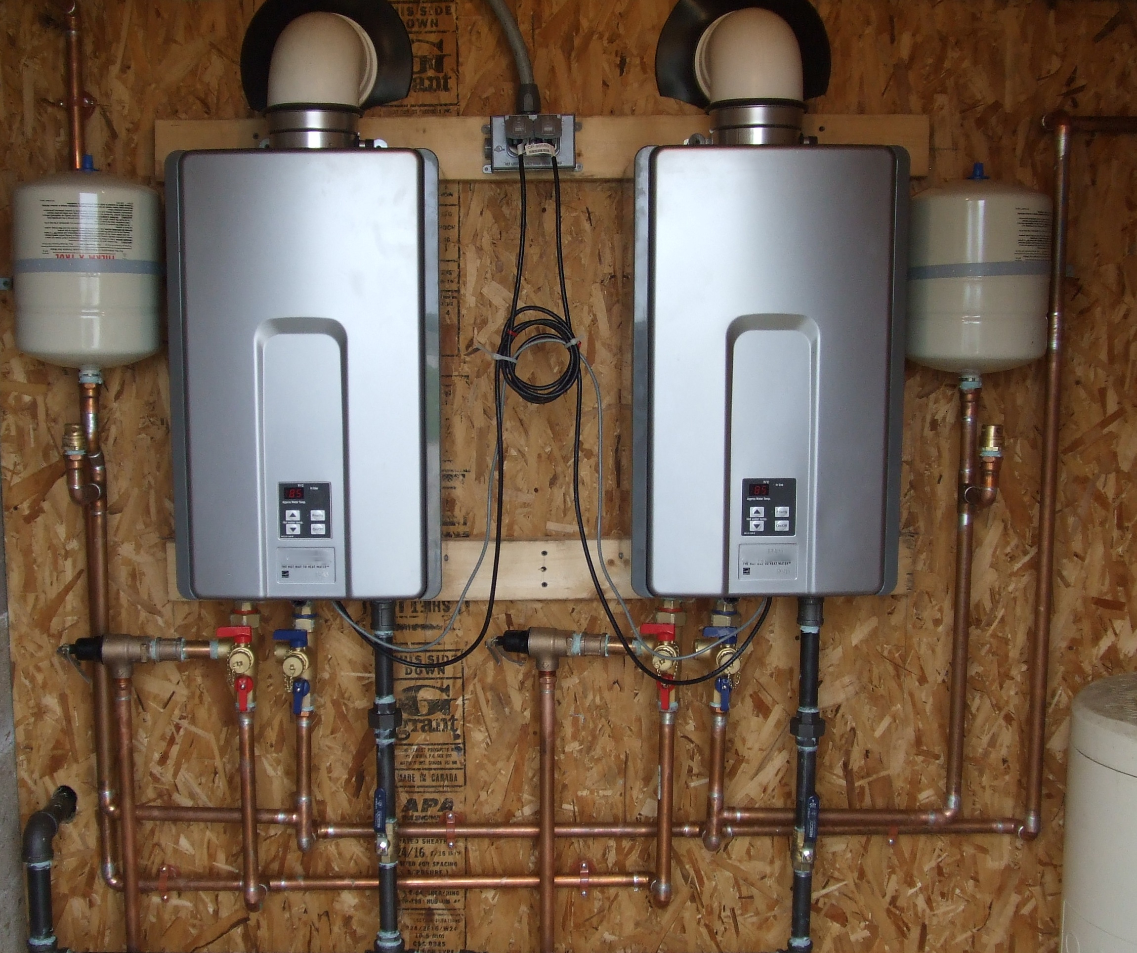 Wiring Money To Canada Tankless Water Heaters A Heater Provides Hot As Needed Saving Energy And Save An By Emitting Fewer Greenhouse